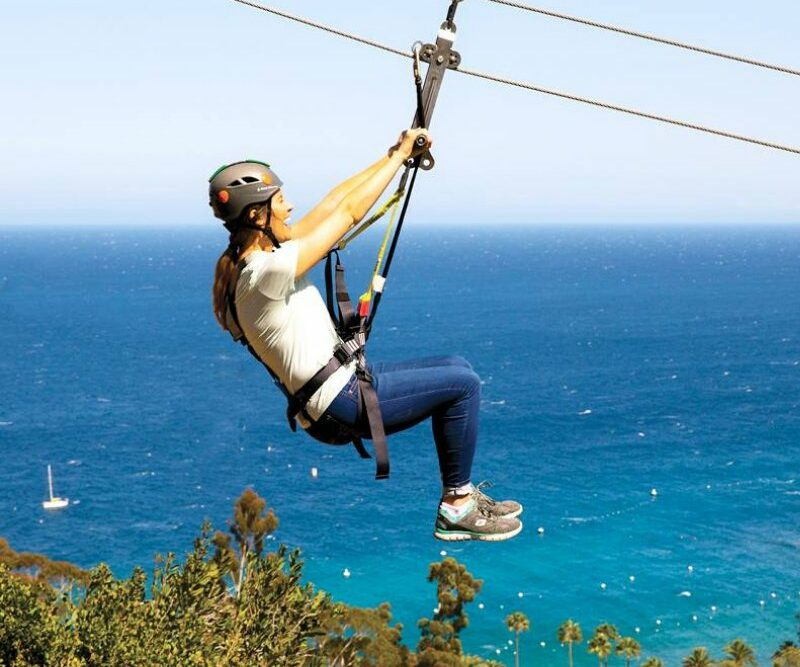 zip line tour, girls getaway, new year 2020