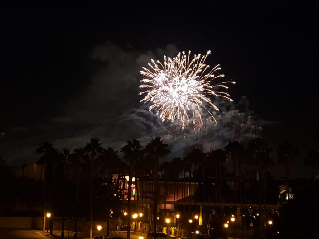 Disneyland, introvert, fireworks, family travel