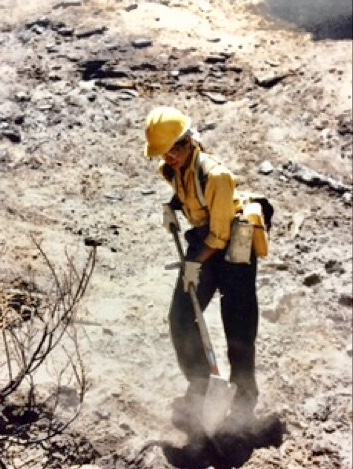 women firefighters, California Wildfires