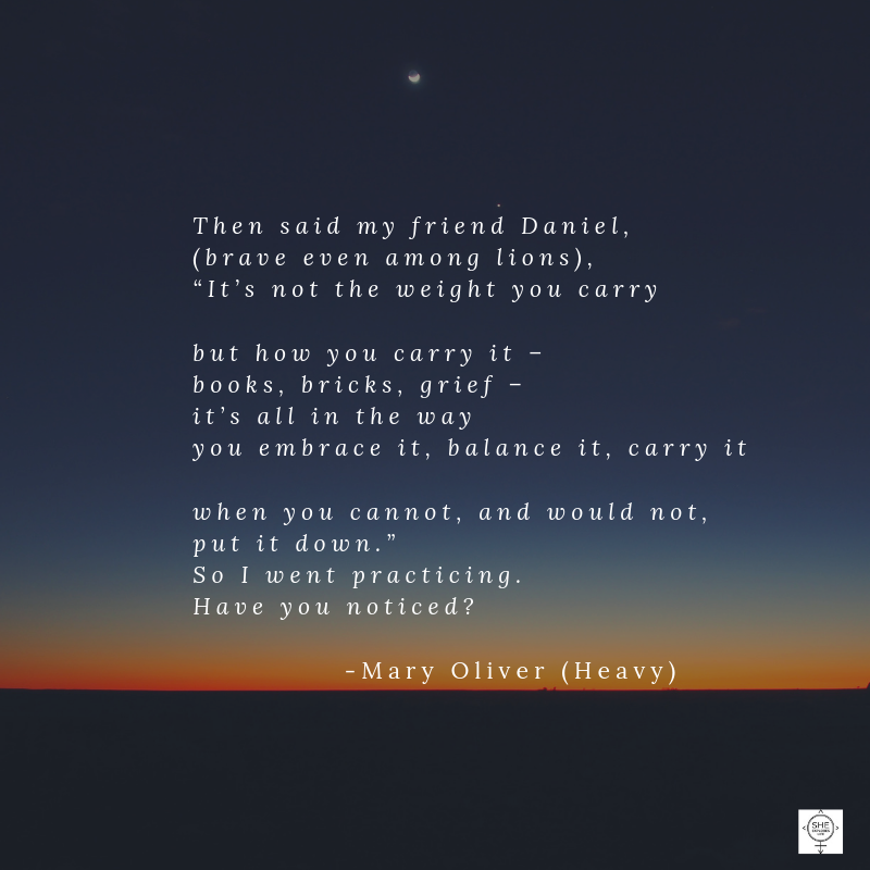 grief, Mary Oliver Quotes