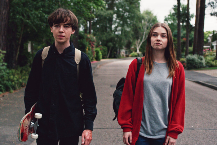 best shows to binge watch, girls night, The end of the f***cking world
